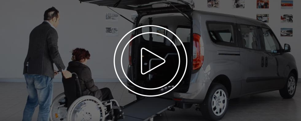 Video Fiat Doblo Disabili Focaccia Group